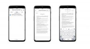 Организация бережливого производства: редактирование на мобильных устройствах документов лин-проекта